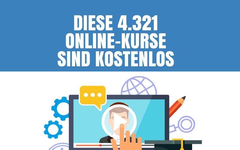 Kostenlose Online-Kurse (mit und ohne Zertifikat) Fortbildung muss nicht immer kostenpflichtig sein Auf dieser Seite präsentieren wir Ihnen einige Anbieter und Weiterbildungsinstitute, bei denen Sie kostenlose Online-Kurse und Trainings absolvieren können.